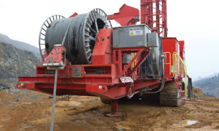 Sandvik's New Electric Rotary Rig Sparks Productivity at Chinese Mine