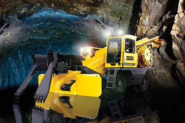 Underground Loader Line Handles Most Mining Applications