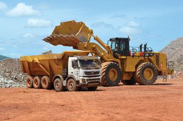 BAS/Volvo Combination Strikes Gold at Gounkoto