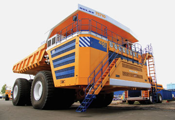 BelAZ Builds the World's Largest Haul Truck