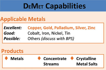 Electrolytic Technology Targets Residual Metal Values in Tailings