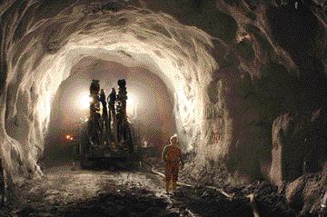 Dundee Precious Metals' Chelopech underground mine.