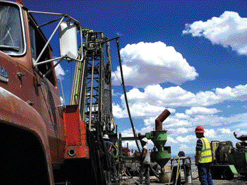 Klondex Mines' Fire Creek gold project in Nevada.