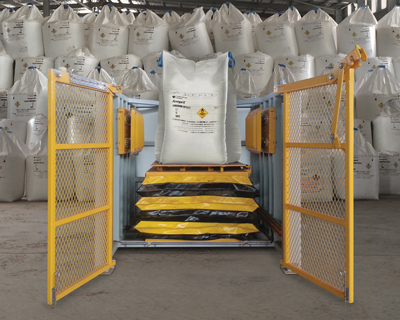 Flexicon's new Block-Buster bulk bag conditioner is purpose-built for mining applications.