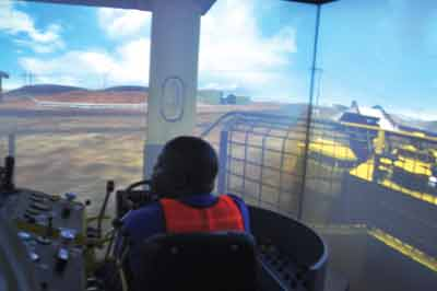 South Deep is using simulators to train drillers and drivers.