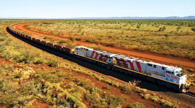After reaching its targeted interim run rate of 290 million mt/y of iron ore from its Pilbara operations two months ahead of schedule, Rio Tinto predicts that it will encounter some 'variability' in run rate in the near future as it incorporates its AutoHaul autonomous rail haulage system.