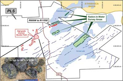 Fission Uranium has identified a rich, shallow uranium deposit on the western side of the Athabasca Basin.