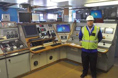 Debmar Pacific Makes Port of Call in Cape Town