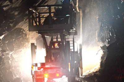 Underground Mine Utility Vehicles Maintain the Workflow