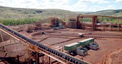 Fortescue Metals' Western Australia mine