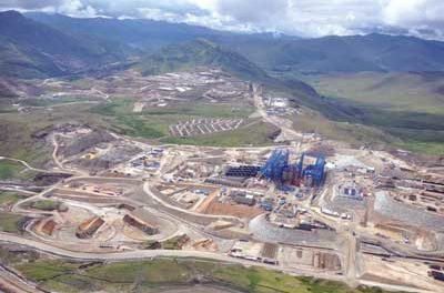 MMG-led Consortium Buying Las Bambas from Glencore Xstrata