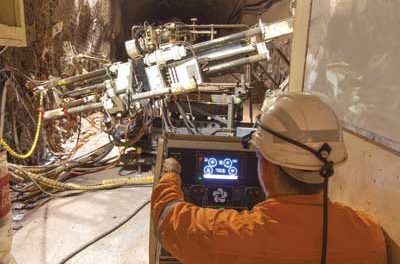 Electronic Interface Boosts Underground Drill Efficiency at Olympic Dam