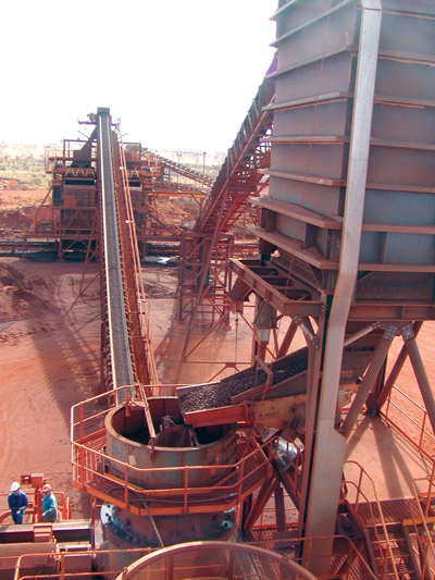 Big benefits can be won by controlling a crushing plant carefully. (Photo courtesy of Sandvik)