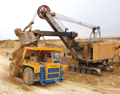 Government-owned mining companies will invest in replacing outdated equipment.