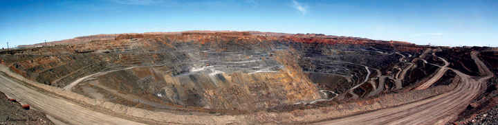 Production at NMMC's Muruntau mine, one of the world's largest open-pit gold mines, could grow by 30% to 2.5 million oz/y.