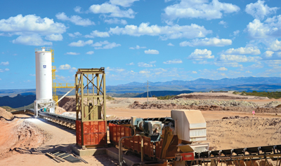 Conveyor System Helps Mexican Gold Mine Improve Efficiencies