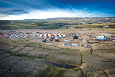 Baffinland's initial long-term plans for the Mary River property—one of the most isolated mining sites in the world—targets production of 18 million to 30 million mt/y of iron ore from Deposit No. 1 in a year-round operation.