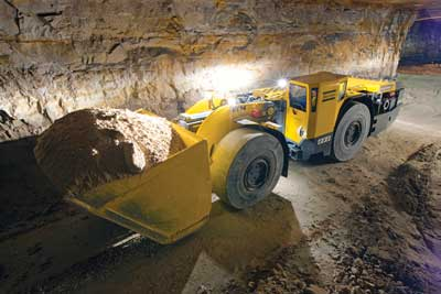 Atlas Copco supplied two Scooptram ST14s for autonomous operating trials at Codelco's Andina mine during 2012.