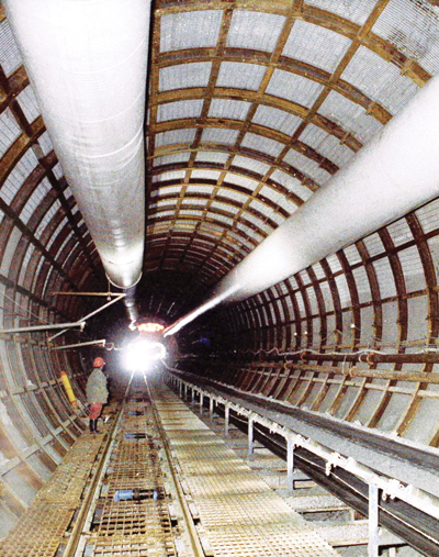 Morien Resources has been dewatering and rehabilitating the access tunnels to the old Phalen mine in Nova Scotia.