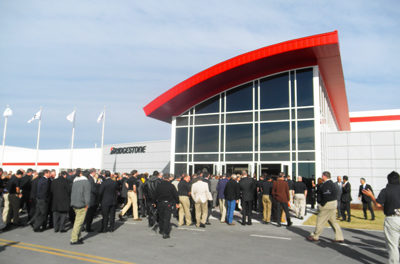 Bridgestone Opens First US Mining Tire Manufacturing Facility