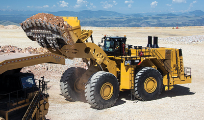 New Cat Loader and Mining-Class Excavator: Redesigned from the Ground Up