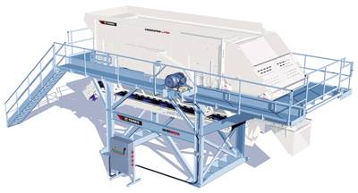 Terex Minerals Processing Systems has launched the MHS8203 horizontal screen module—its largest modular screening unit to date—thus increasing the screening capacity and application capabilities of its existing modular product range.