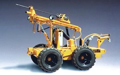 Marcotte's Weasel is designed for safe blockage blasting.