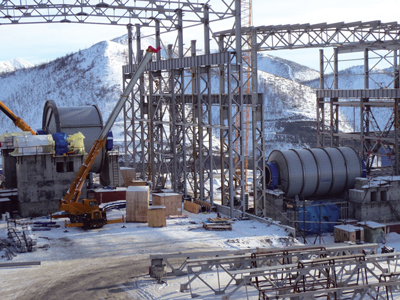 Cemtec and Siemens jointly developed a standard-equipment, economical solution to handle the power needed to drive a 10.4 x 6.1-m, 15-MW SAG mill and an 8.2 x 14-m 18-MW ball mill at this Russian gold mill site.