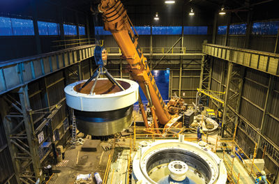World's Largest Cone Crushers Go Into Service at African Mine