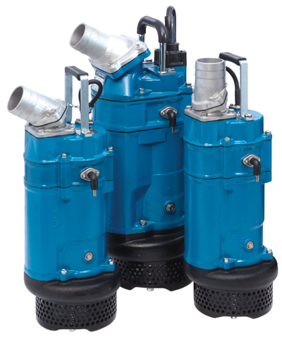 Tsurumi recently launched several new pump models in the European market, including the KTZE drainage pump with level sensor.