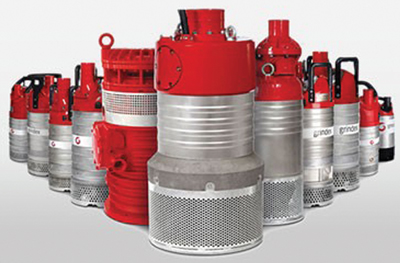 Gindex's range of submersible pumps includes the six models in the Inox family.