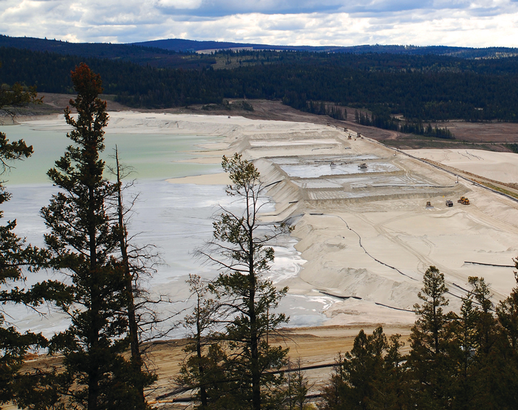 The plan for a tailings storage facility begins long before ground is broken. (Gord McKenna, 2010–Creative Commons)