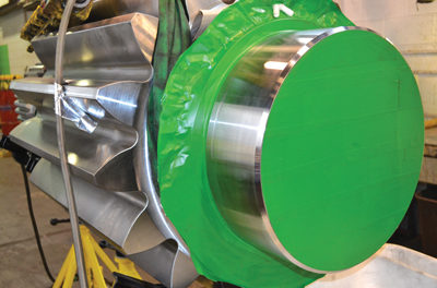 Plating Process Speeds Dragline Gear Repair, Shortens Downtime