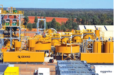 Gekko Hands Over Gold Plant After Successful Tests
