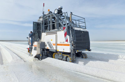 Wirtgen Surface Miner Proves its Worth to Salt Producer