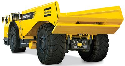 Underground Mine Truck Gets Major Upgrade