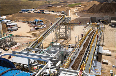 Hudbay Ramping Up 80,000-mt/d Constancia Project