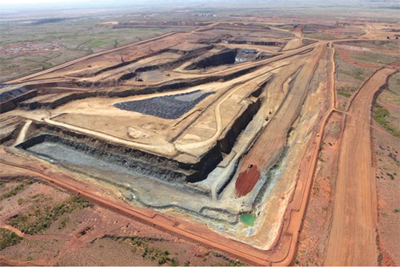 Plummeting iron ore prices and slower-than-anticipated ramp-up of magnetite production have put CITIC under pressure to write down the value of its Sino project in Western Australia.