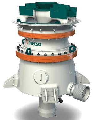 Metso's Nordberg GP7 gyratory crusher.
