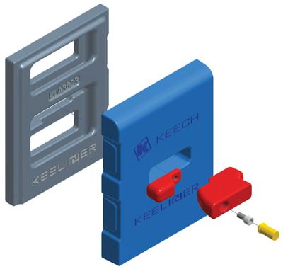 Keech's Keeliner uses a hammerless locking system.