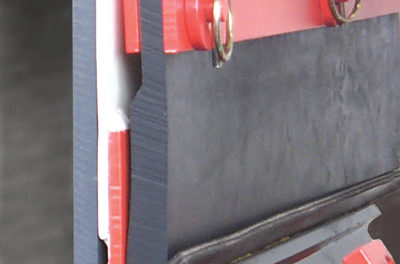 Conveyor Skirting Self-adjusts to Compensate for Wear