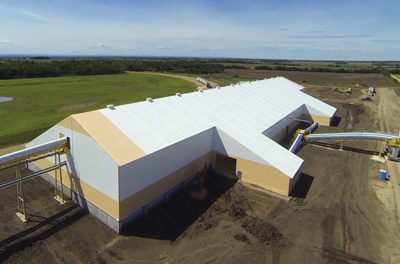 Fabric Buildings Feature Structural Steel Beams