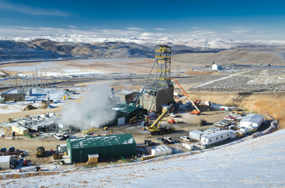 Amec Foster Wheeler is providing EPC services at Newmont's Leeville gold mine in Nevada.