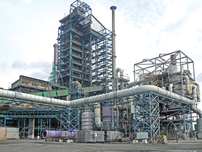 Mopani Copper Mines' Mufulira smelter, built in 1937, has been upgraded at a cost of $500 million. The renovation allows 97% of SO2 emissions to be captured and used as acid-production feed.