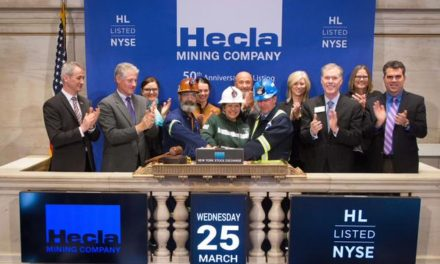 Hecla Rings the Closing Bell on the NYSE