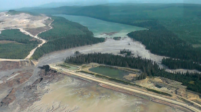 Design Flaw Cited in Mount Polley Dam Failure