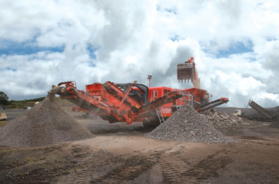 Primary Mobile Jaw Crusher Has Hydraulic Options
