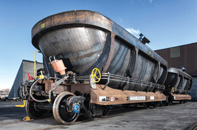 Kiruna, Others Collaborate on Next-gen Railcar Design