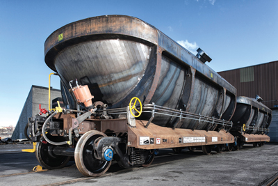 Kiruna Wagon's new wagon, the Turn Dumper, is currently under development