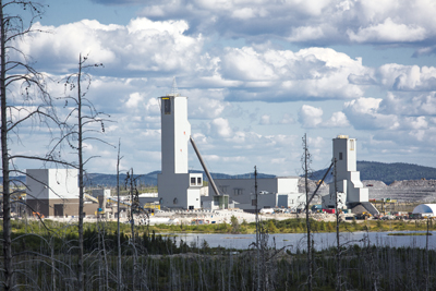 Goldcorp's Éléonore mine, a new underground gold mine located in Canada's James Bay region, is using technology to improve safety and reduce production costs.